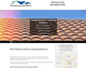 BluVision Media - Roof Restoration Campbelltown